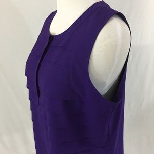 Chico's Purple Top Size 3